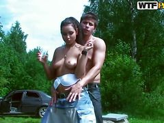 секс с русской молодой тетей