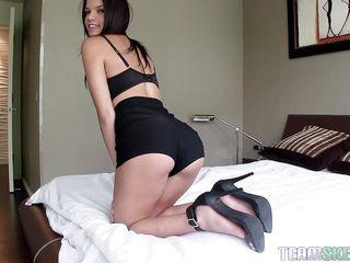 Порно видео онлайн на улице